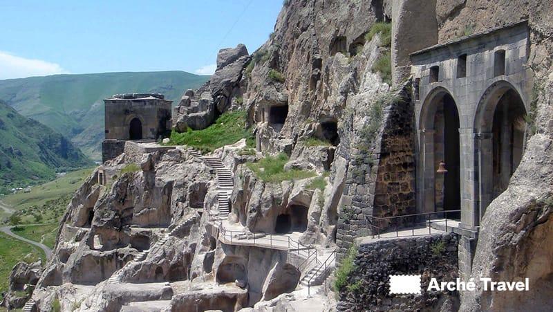 complesso monastico Vardzia Georgia