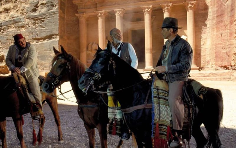 Indiana Jones Petra - Film girati in Giordania