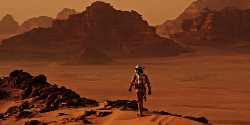 The Martian Wadi Rum - cinema giordania
