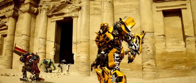 Transformers Petra - Film girati in Giordania Cinema