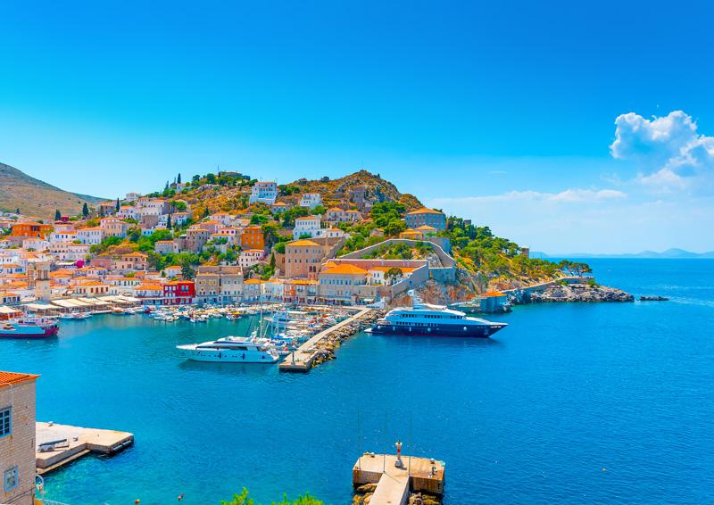Grecia cosa fare, Crociera Hydra