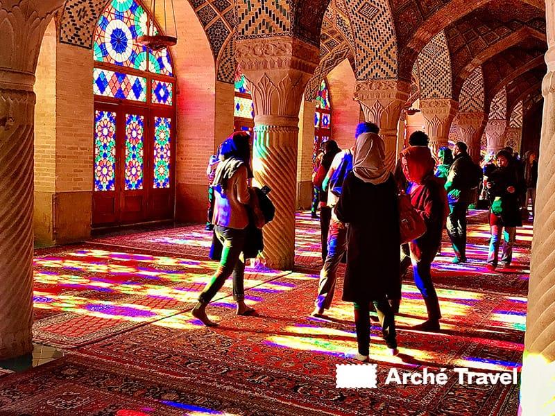 Moschea di Nasir-al-Molk - cosa vedere in Iran