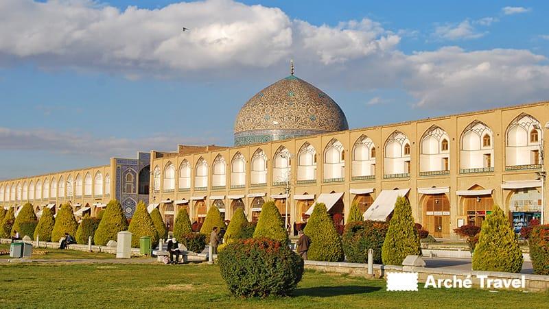 La moschea Masjed-e Shah Iran