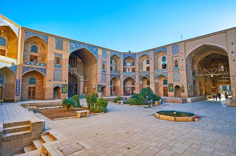 Ganjali Khan - cosa vedere in Iran