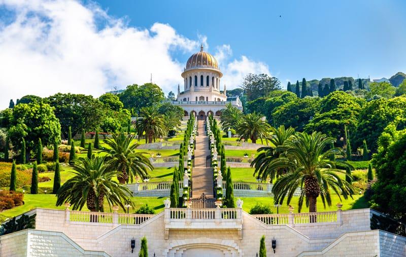 giardini di Haifa