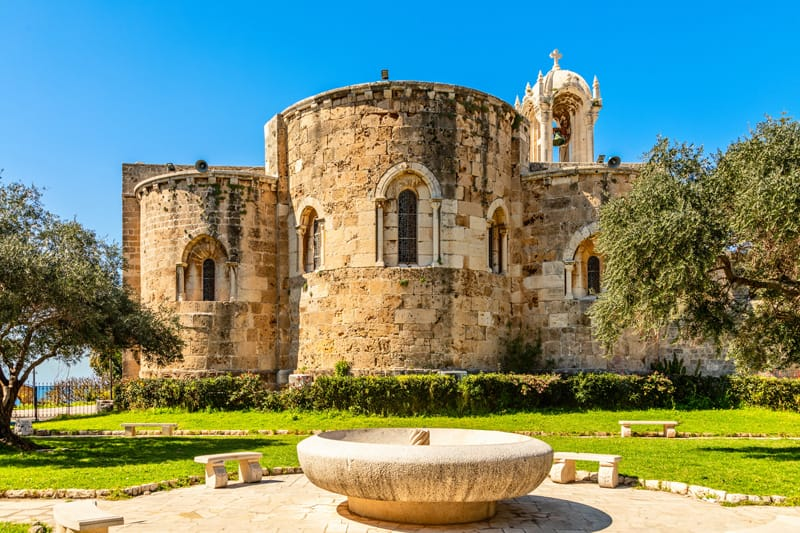 chiesa crociata San Giovanni Libano cosa vedere