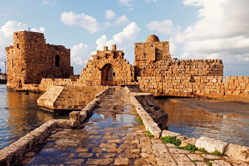 castello crociati  Sidone cosa vedere libano