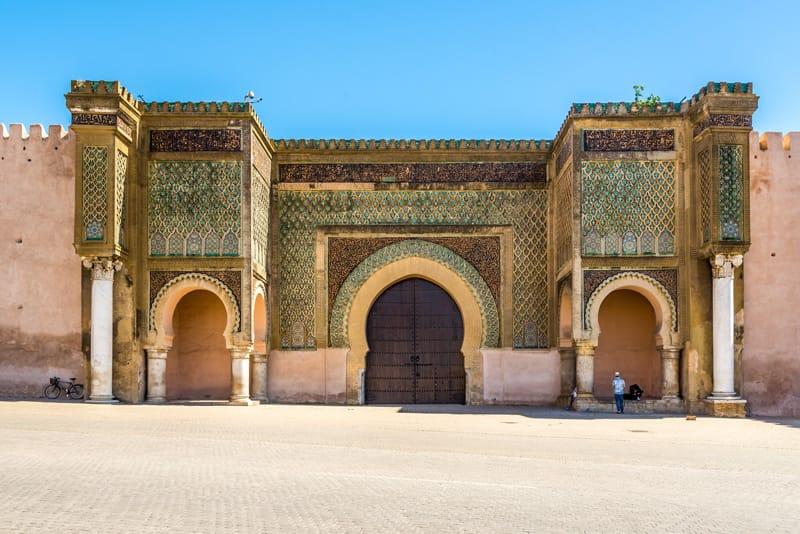 Porta Bab el-Mansour Meknès Marocco Storia