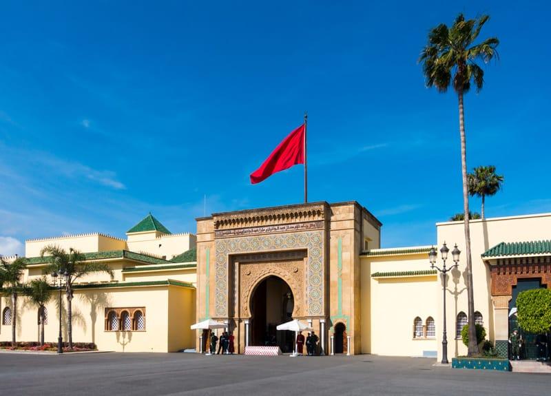 Palazzo Reale Rabat - storia del Marocco