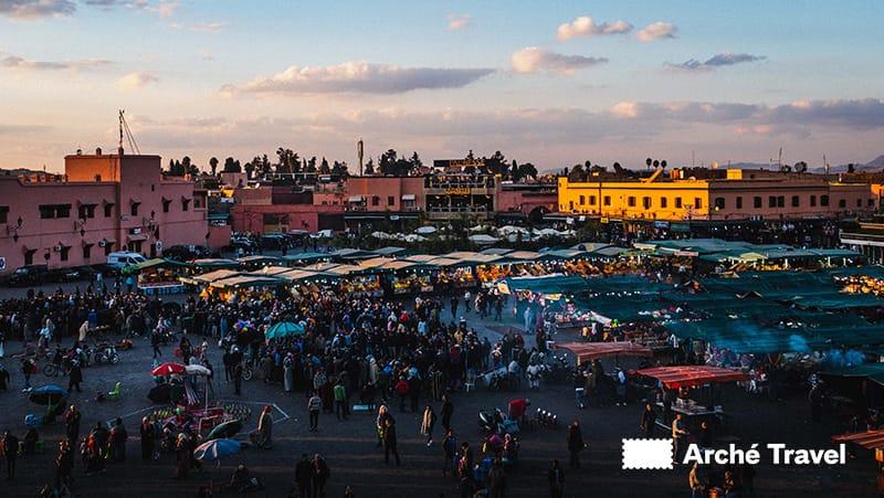 Piazza Jemaa el-Fna - cosa fare a marrakech