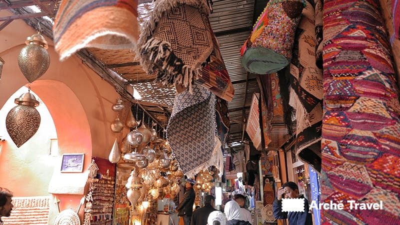 Souq di Marrakech