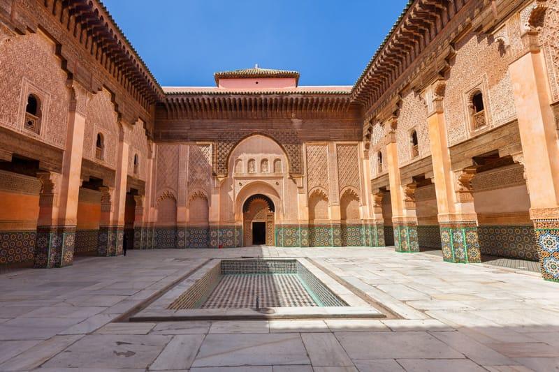 La Madrasa di Ben Youssef - cosa vedere a marrakech in 3 giorni