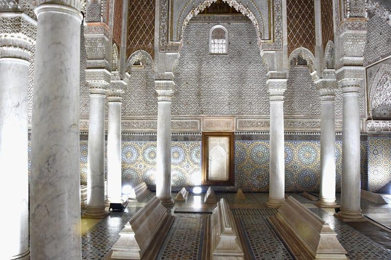 Le Tombe Saadiane - cosa vedere a marrakech in 3 giorni