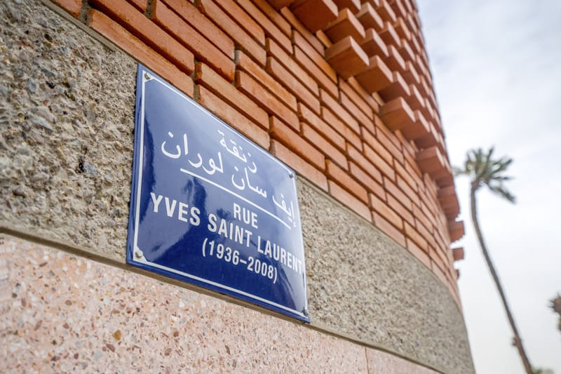 L'ingresso del Museo Yves Saint Laurent - cosa vedere a marrakech in 5 giorni