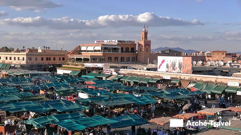 Piazza Jemaa el-Fnaa