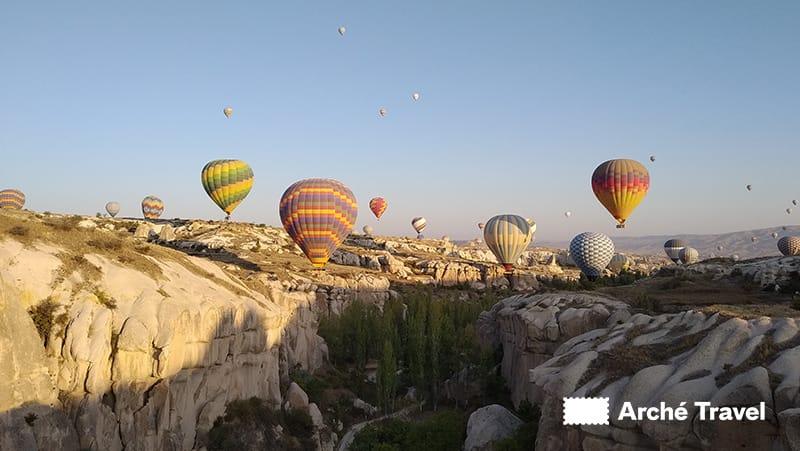 Giro in mongolfiera cappadocia turchia