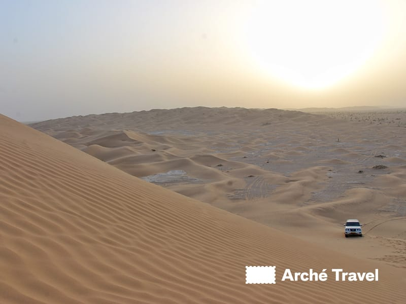 Le maestose dune di Rub Al Khali