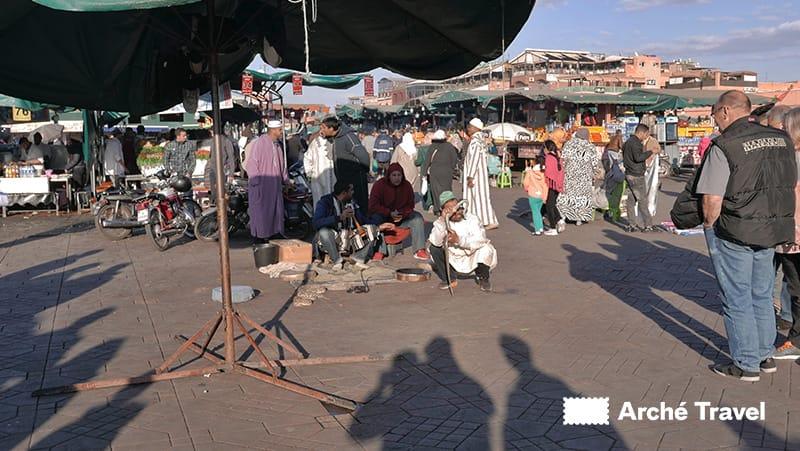 Oratori a Piazza Jemaa el-Fna