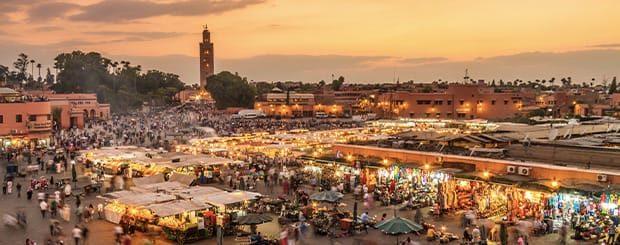 piazza jemaa el fna marrakech marocc