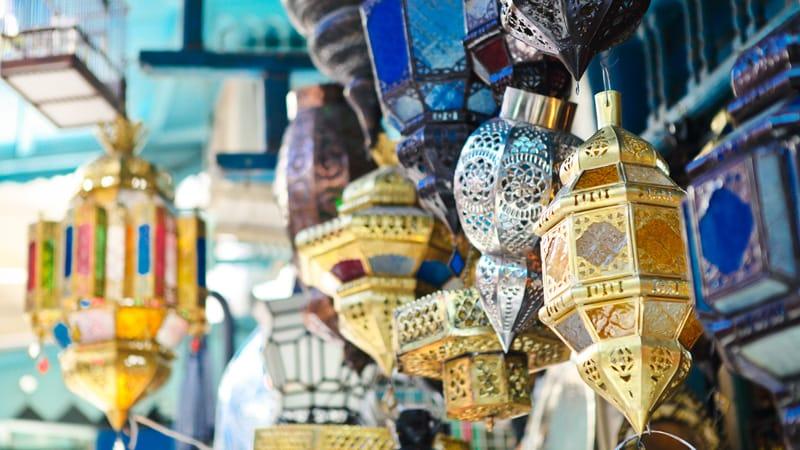 Artigianato nei Suq di Tunisi