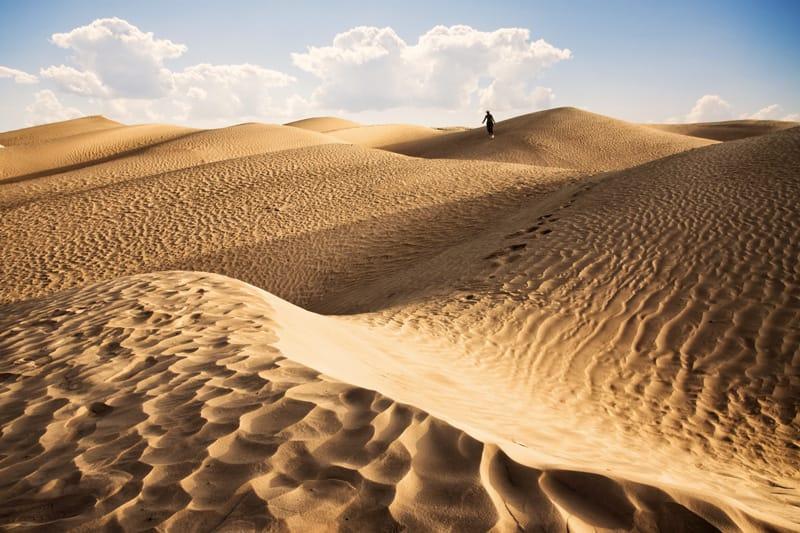 Safari nel deserto tunisino