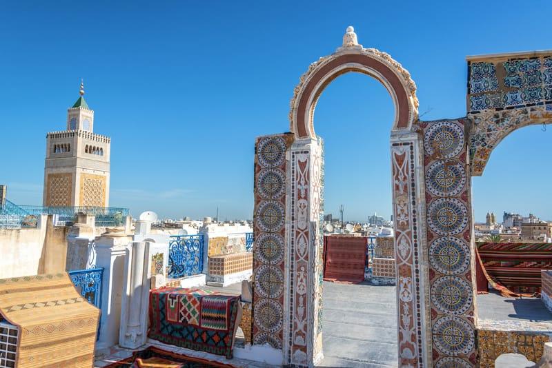 Grande Moschea di Tunisi  - cosa fare in Tunisia