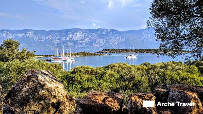 Sedir Island - Bodrum Caicco Turchia - cosa vedere in turchia