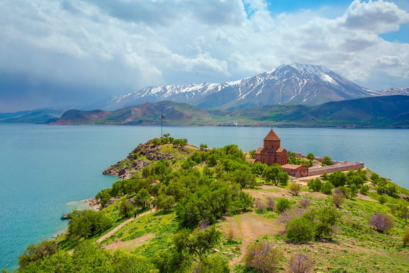Lago di Van - cosa vedere in Turchia