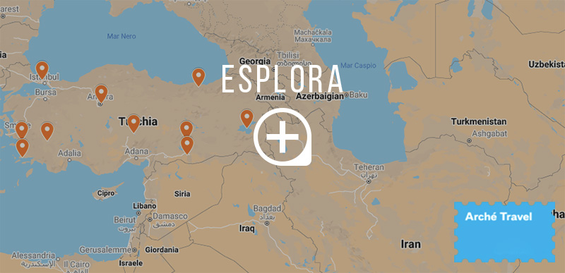 Mappa cosa vedere in Turchia