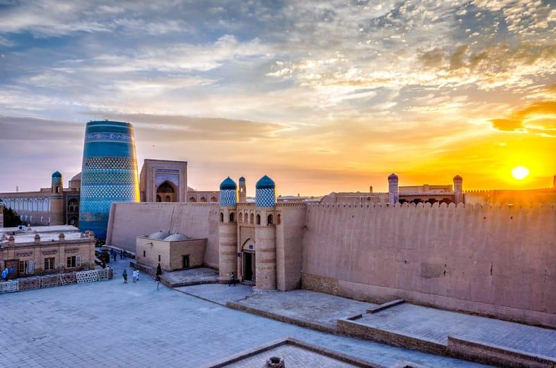 Khiva fortificazione Uzbekistan