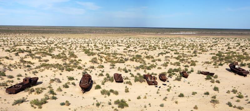 Lago d'Aral Moynaq