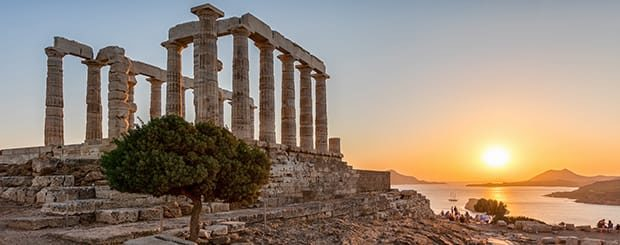 tour capo sounion escursione da atene