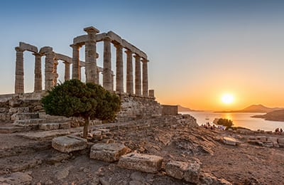 tour grecia capo sounion da Atene