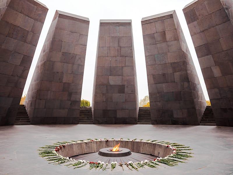 Memorial genocidio armeno Yerevan - Storia Armenia