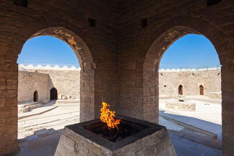 Tempio di Ateshgah - Storia Azerbaijan