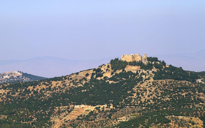 castello ajlun giordania