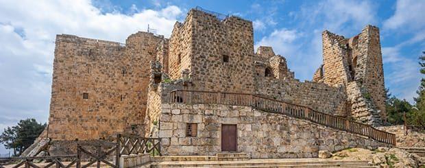castello di ajloun giordania