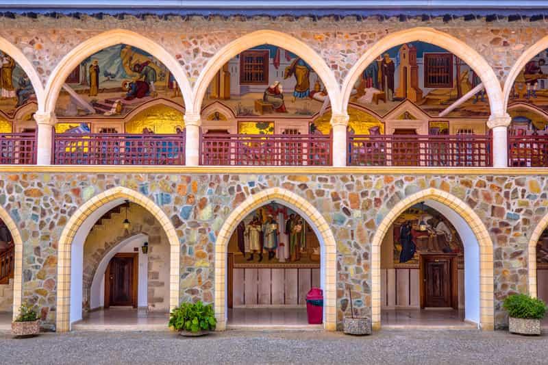 Monastero di Kykkos - Storia di Cipro