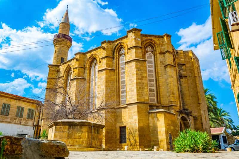 Nicosia Moschea di Selimiye - Storia di Cipro
