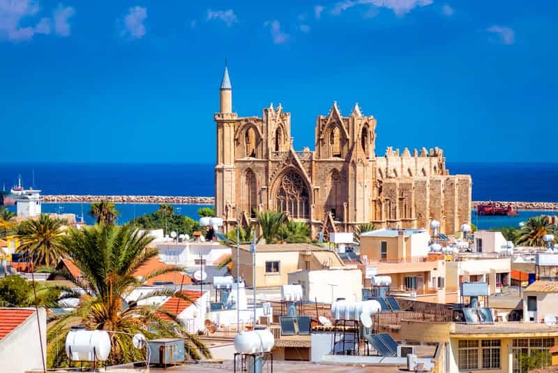 Cattedrale di San Nicola Famagosta - Storia di Cipro