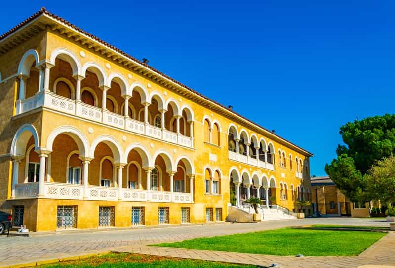 Palazzo Arcivescovado Nicosia - Storia di Cipro