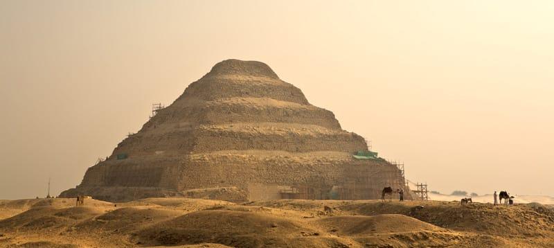 Piramide di Djoser - Storia antico egitto