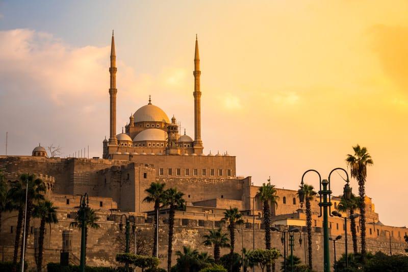 Il Cairo Moschea Muhammad Ali - Storia dell'Egitto