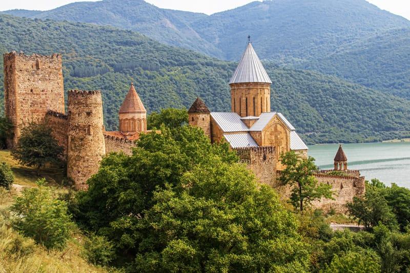 Mtshketa Jvari - Storia della Georgia