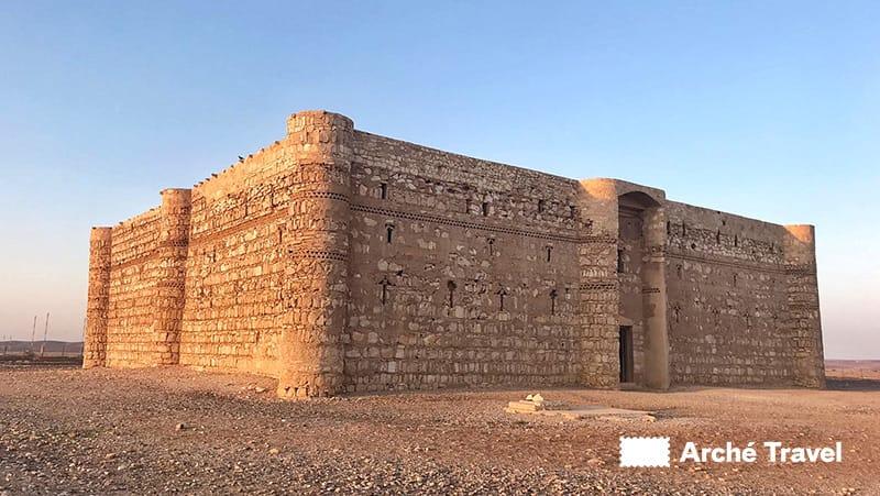 Al-Kharranah castello deserto - Storia della Giordania