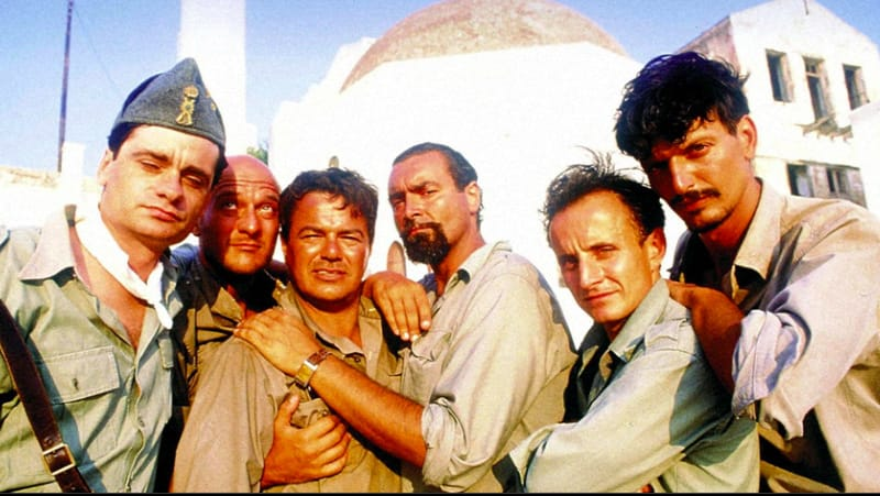 Mediterraneo film girati in grecia