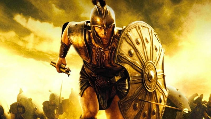 Troy Achille film - film girati in grecia