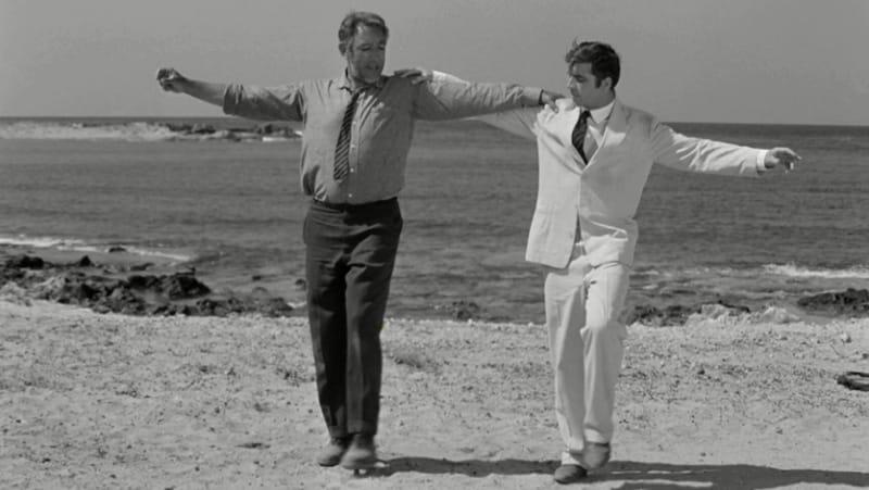 Zorba il greco sirtaki - film girati in grecia