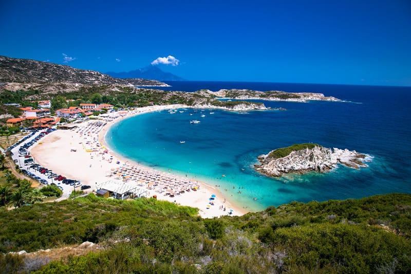 Kalamitsi Penisola Calcidica spiagge più belle della Grecia