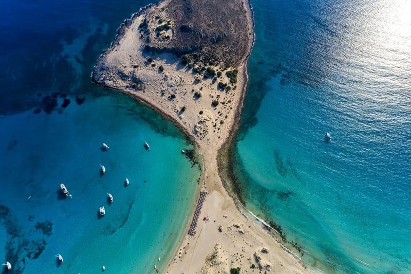 Simos beach Elafonissos Peloponneso